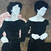 "Beverley Hawksley ""Girls in Black Dresses without Satin Sashes"""